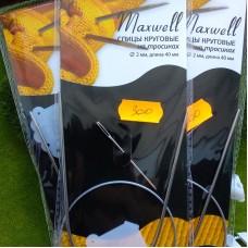 Спицы круговые 2.0/40 см (металл) Maxwell