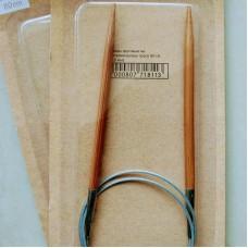 Спицы круговые 6.0/80 см (деревянные на металлическом тросе)