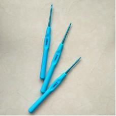 Крючок алюминиевый 2.5 с пластиковой ручкой