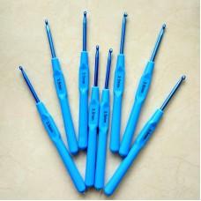 Крючок алюминиевый 3.5 с пластиковой ручкой