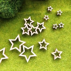 Декор деревянный Звёзды, 20 мм