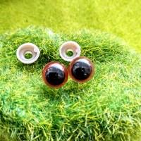 Глаза, 10 мм (коричневый)