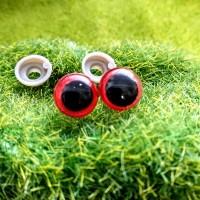 Глаза, 10 мм (красный)
