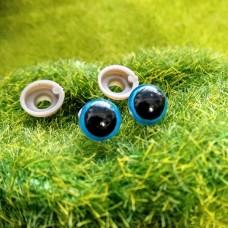 Глаза, 8 мм (синий)