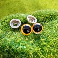 Глаза, 8 мм (жёлтый)