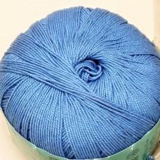 Ажурная темно-голубой