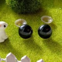 Глаза, 16 мм (черный)