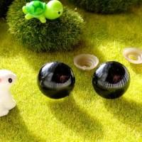 Глаза, 20 мм (черный)
