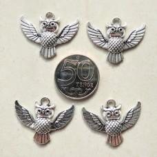 Подвеска Сова (серебро) 1
