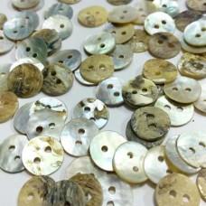 Пуговицы из ракушек, 10 мм