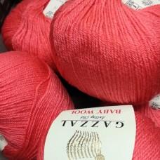 Baby wool (Gazzal) 819 (коралл)
