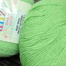 Baby wool (Alize) 41 (ментол)