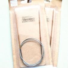 Спицы круговые 2.0/80 см (деревянные на металлическом тросе)