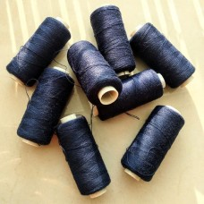 Нитки швейные бытовые (темно-синий)