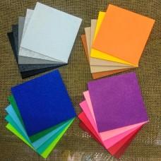 Фетр 10×10 см (цвета микс)
