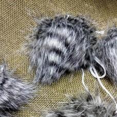 Помпон YarnArt Bobble hat 22 (чёрно-белый)