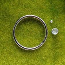 Кольцо металлическое 30×3 мм (никель)