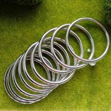 Кольцо металлическое 35×3 мм (никель)
