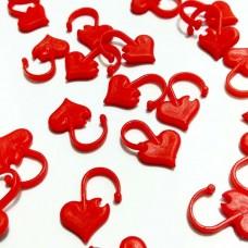 Маркер Сердце пластик (7 мм)