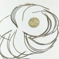 Игла металл гнутая (9 см)