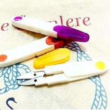 Ножницы-перекусы (пластик+колпачок)