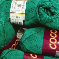 Coco 4310 (зелёная бирюза)