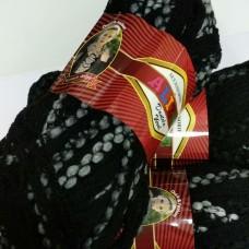 Dantela wool 1490 (черный с серым)