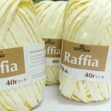 Raffia молочный