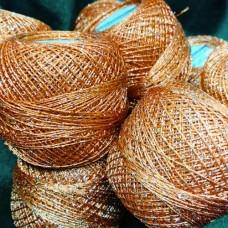 Camellia 421 (оранжевый с серебром)