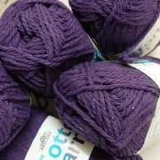 Cotton Yarn темный фиолетовый