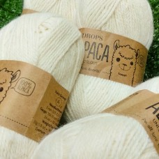 Alpaca uni colour 0100 (суровый)