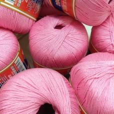 Мерсеризованный хлопок 054 (супер розовый)