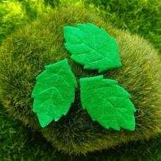Декор Листья из фетра (10 шт)