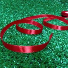 Лента атласная 10 мм (красный)