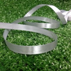 Лента атласная 10 мм (серебро)