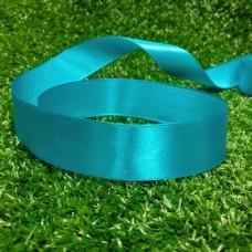 Лента атласная 25 мм (голубой)