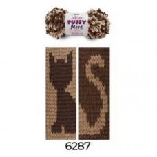Puffy More 6287 (бежевый/шоколад)