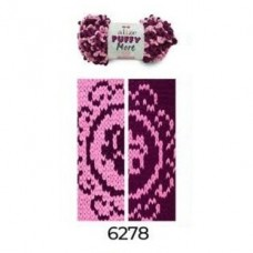 Puffy More 6278 (сухая роза/баклажан)
