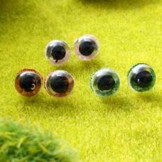 Глаза, 10 мм (блеск) БРАК