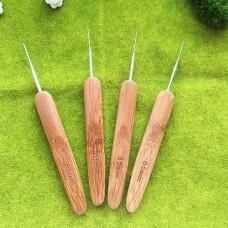 Крючок 0.5 с деревянной ручкой