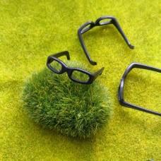 Очки для игрушек (Барби), 30 мм (черный)