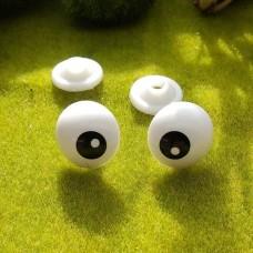 Глаза, 22 мм (белый)