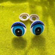 Глаза, 20 мм (синий)