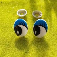 Глаза, 16×22 мм (синий)