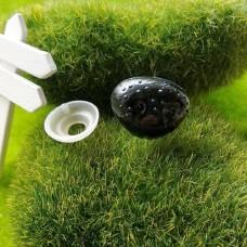 Носик фактурный собачий 18×15 (черный)