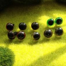 Глаза, 10 мм (цветные) БРАК
