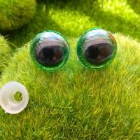 Глаза, 16 мм (блеск, зелёный)