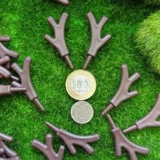 Рога оленя (коричневый)