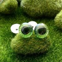 """Глаза """"живые"""", 20 мм (зеленый)"""