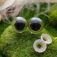 Глаза, 20 мм (блеск, св. зелёный)